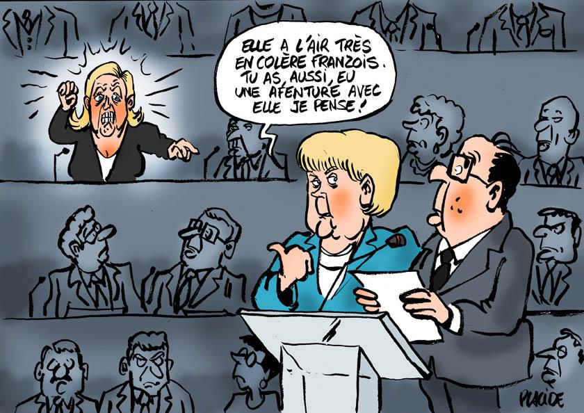 Dessins de presse  15-10-08-merkel_hollande_lepen