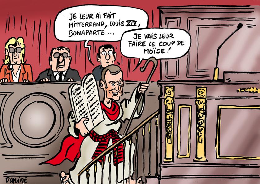 Le dessin du jour (humour en images) - Page 7 17-07-03-1-macron