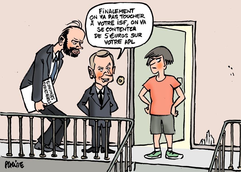 Le dessin du jour (humour en images) - Page 7 17-07-24-macron-philippe