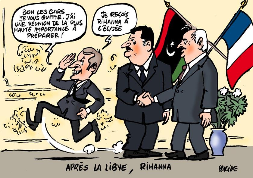 Le dessin du jour (humour en images) - Page 7 17-07-25-macron-libye