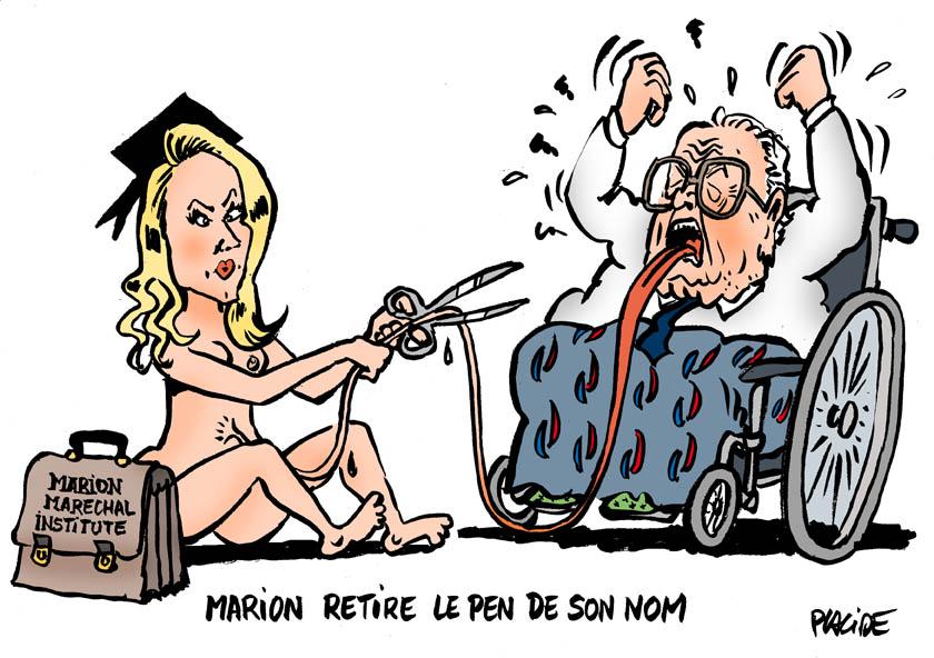 Le dessin du jour (humour en images) - Page 16 18-05-25-marion-marechal-lepen