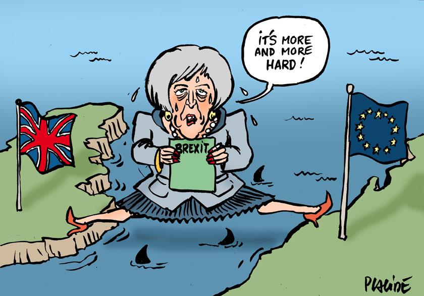 Le dessin du jour (humour en images) - Page 23 19-01-17-teresa-may