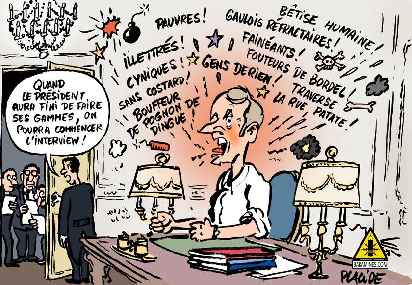 Le dessin du jour (humour en images) - Page 23 19-02-01-macron