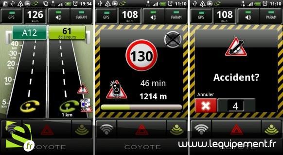 Radars : Panneaux supprimés et avertisseurs interdits - Page 3 Icoyote-android_001__800