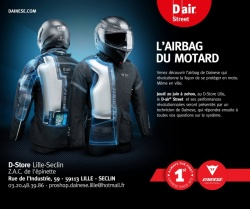 Equipement : NOUVEAUTES INFOS DIVERS Presentation-airbag-moto-dainese-lille