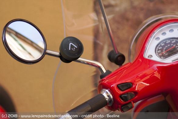 Beeline : la boussole connectée pour motard Beeline-moto-boussole-connectee-scooter