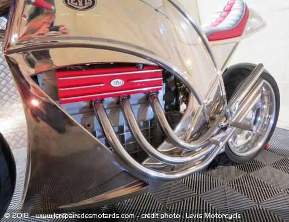 Levis V6 Cafe Racer Levis-v6-cafe-racer-moteur