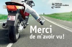 Campagne prévention routière moto : Merci de m'avoir vu Affiche-campagne-motard-merci-m-avoir-vu