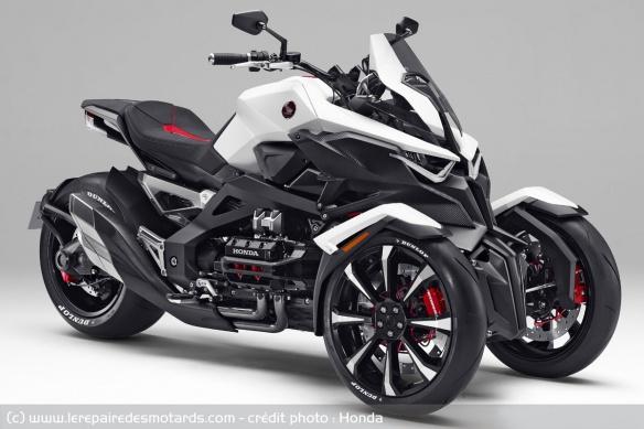 Découvrir la Yamaha 900 Niken GT - 2019 Brevets-honda-neowing-trois-roues-concept