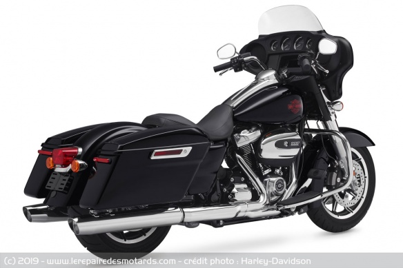 Essai des modèles 2019 : Ultra Ltd, RKS, SGS & RGS Harley-davidson-electra-glide-standard-droite