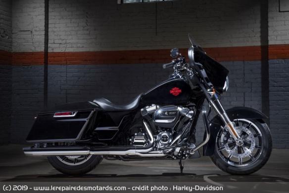 Essai des modèles 2019 : Ultra Ltd, RKS, SGS & RGS Harley-davidson-electra-glide-standard-profil