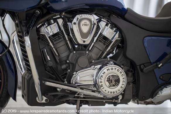 Nouveauté moto 2020 : Indian Challenger Moto-bagger-indian-challenger-limited-moteur