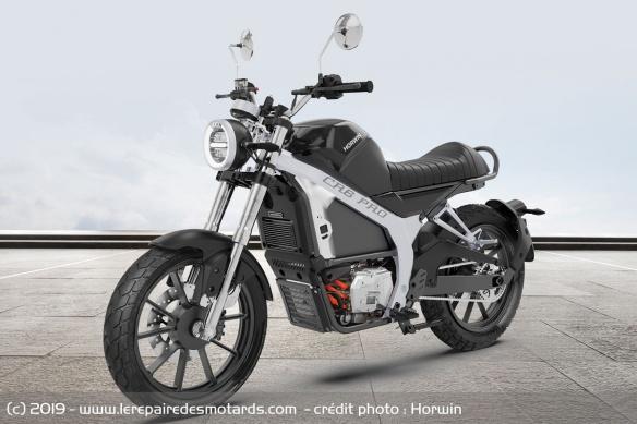 Moto électrique 125 Horwin CR6 Motos-electriques-horwin-cr6-pro-noir