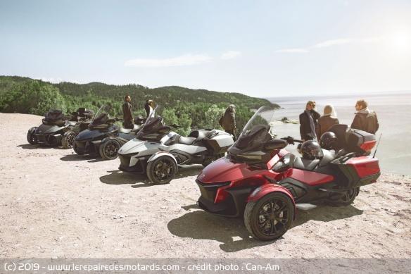 Nouveauté 3-roues : Can-Am Spyder RT Trois-roues-can-am-spyder-rt-gamme