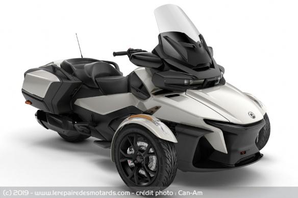 Nouveauté 3-roues : Can-Am Spyder RT Trois-roues-can-am-spyder-rt-gris