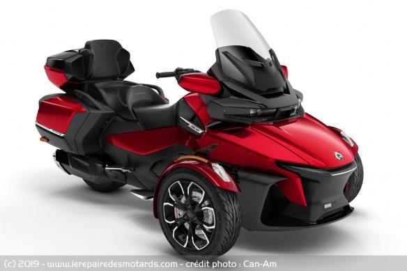 Nouveauté 3-roues : Can-Am Spyder RT Trois-roues-can-am-spyder-rt-limited-rouge