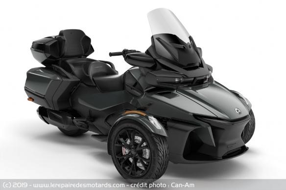 Nouveauté 3-roues : Can-Am Spyder RT Trois-roues-can-am-spyder-rt-lt-noir