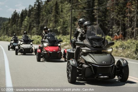 Nouveauté 3-roues : Can-Am Spyder RT Trois-roues-can-am-spyder-rt-route-face