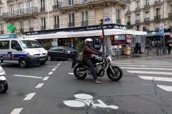 Non respect des zones tampons : 388 PV par jour à Paris Paris-388-pv-sas-velo-journee