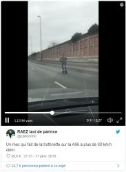 La dangerosité des nouveaux moyens de déplacement individuels Trottinette-electrique-autoroute-85-kmh