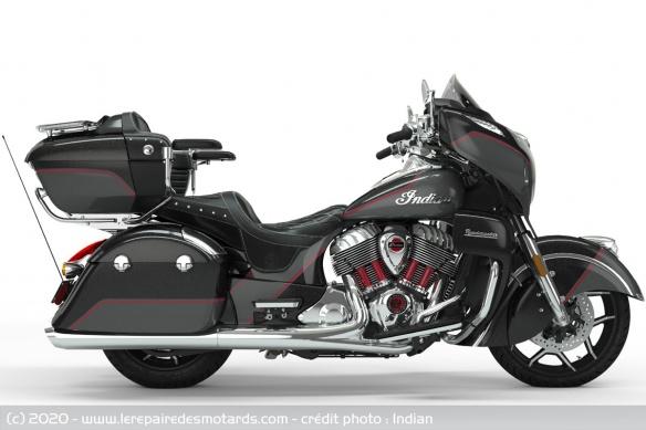 Edition limitée Indian Roadmaster Elite 2020 (1.901 cm3) Edition-limitee-indian-roadmaster-elite-droite