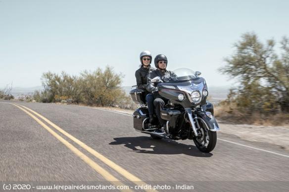 Edition limitée Indian Roadmaster Elite 2020 (1.901 cm3) Edition-limitee-indian-roadmaster-elite-route