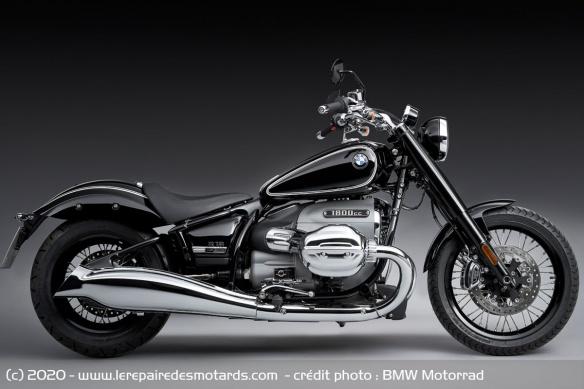 BMW dévoile la R 18 Moto-cruiser-bmw-r-18-profil