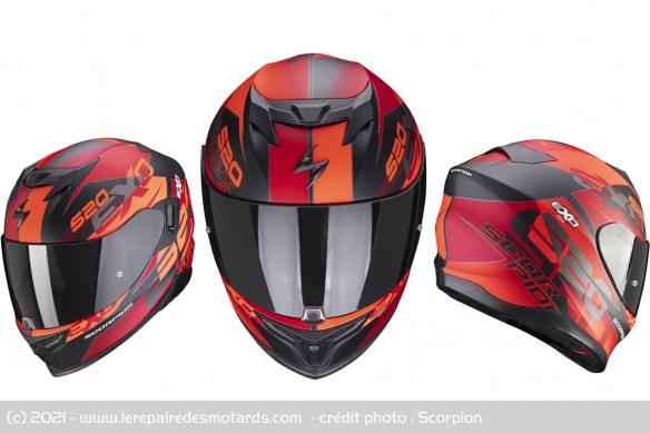 Casque Scorpion EXO-520 Air Casque-integral-scorpion-exo-520-air-cover