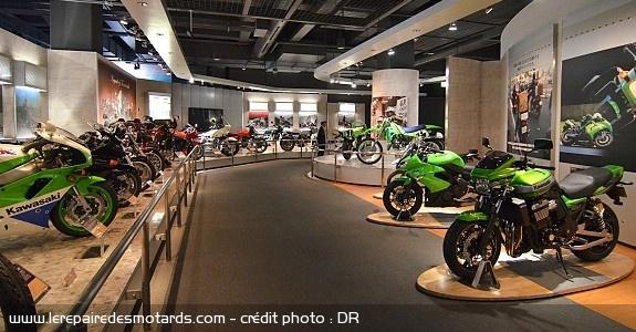 10 musées de la moto à visiter en Europe Musee-kawasaki-kobe