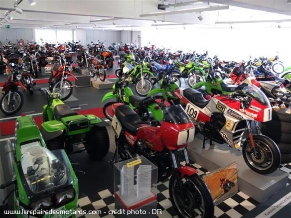 10 musées de la moto à visiter en Europe Musee-kawasaki-suisse