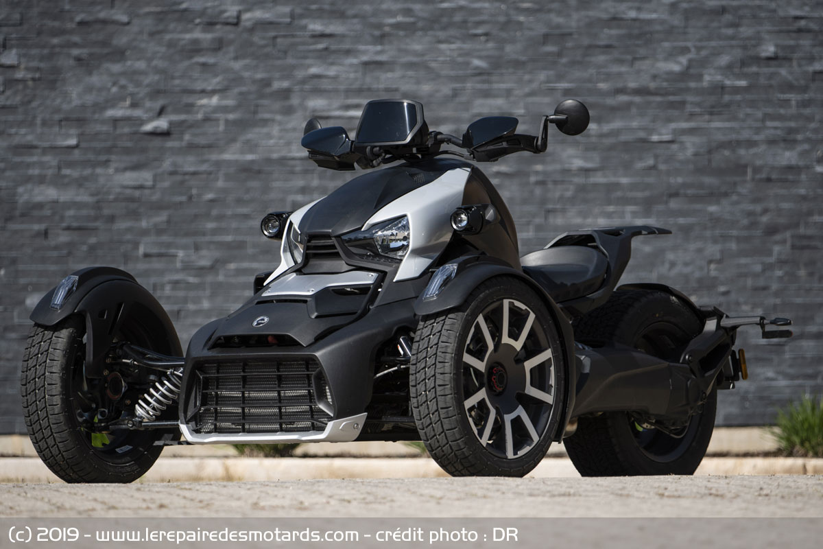 Can Am Ryker 2019 : Les 3 roues plus accessibles ! Brp-can-am-ryker-statique_hd