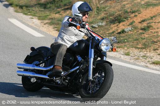 Softail Slim Harley-softail-slim-route