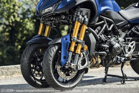 Découvrir la Yamaha 900 Niken GT - 2019 Avant-roues-moto-3-roues-yamaha-niken-gt
