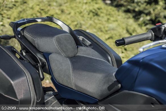 Découvrir la Yamaha 900 Niken GT - 2019 Selle-moto-3-roues-yamaha-niken-gt
