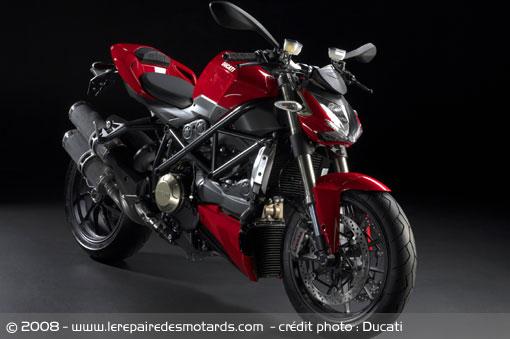 Ma 750 SS 93 en cours de Kférisation Alu... - Page 10 Ducati-streetfighter-rouge