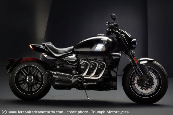 Essai comparatif motos Triumph Rocket 3 R et GT Tech-triumph-rocket-iii-tfc-edition