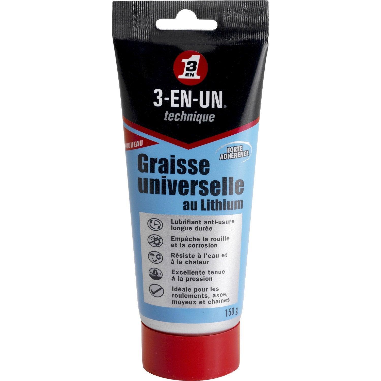 Quelle graisse dans l'atelier et la maison Graisse-universelle-au-lithium-en-tube-de-150-g-3-en-1-technique