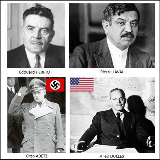 Pourquoi De Gaulle refusa-t-il toujours de commémorer le déb CIA-Allen-Dulles-et-lambassadeur-dHitler-%C3%A0-Paris-Otto-Abetz
