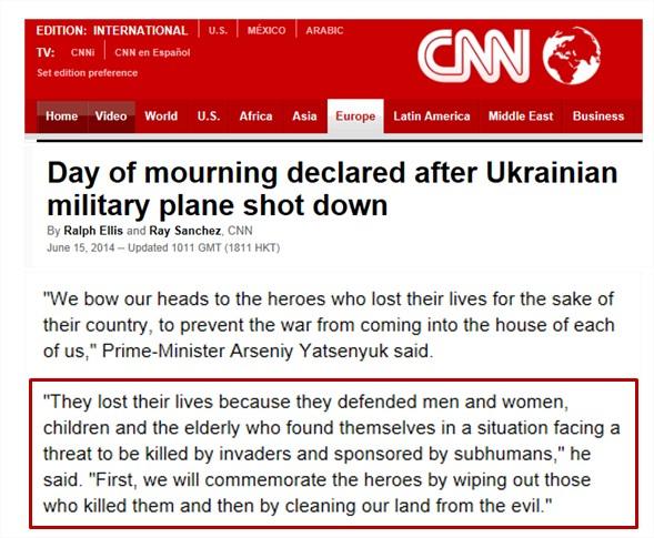Affrontements en Ukraine : Ce qui est caché par les médias et les partis politiques pro-européens Cnn