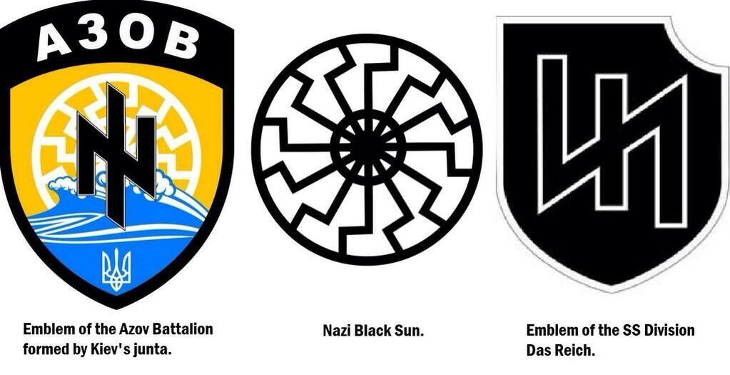 Affrontements en Ukraine : Ce qui est caché par les médias et les partis politiques pro-européens - Page 15 Ukraine-nazi-emblems