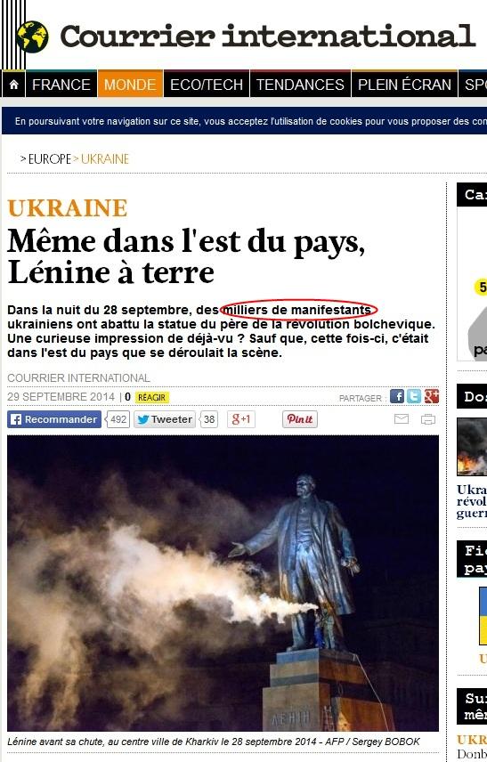 Affrontements en Ukraine : Ce qui est caché par les médias et les partis politiques pro-européens - Page 15 Courrier