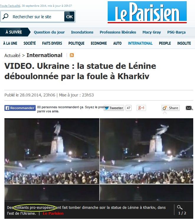 Affrontements en Ukraine : Ce qui est caché par les médias et les partis politiques pro-européens - Page 15 Parisien2