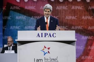 Cette france que dirige Israël - le lobby au dîner du CRIF. - Page 9 Kerry-aipac