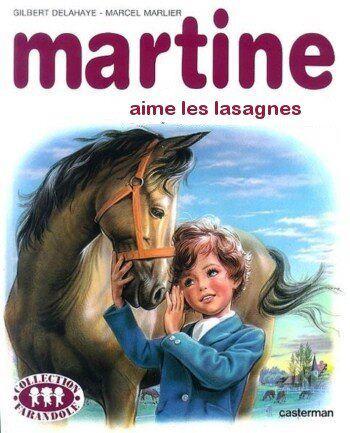Le scandale Findus Martine-lasagnes-boeuf-cheval
