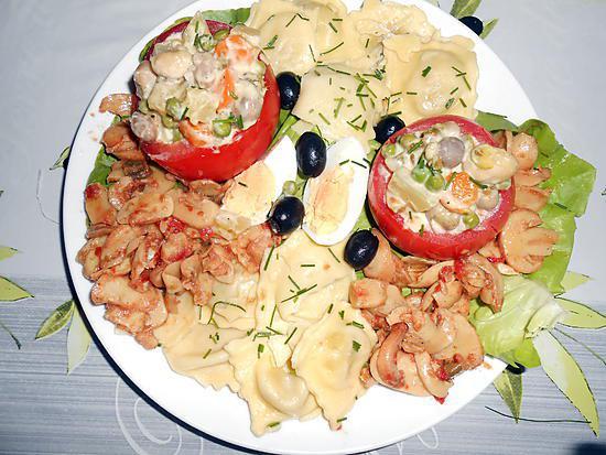 Salade jardiniere Ce-soir-salade