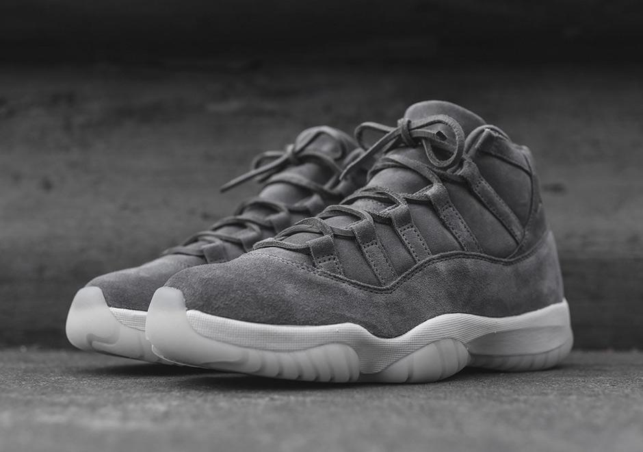Nouveautés Sneakers - Page 3 Air-jordan-11-premium-grey-suede