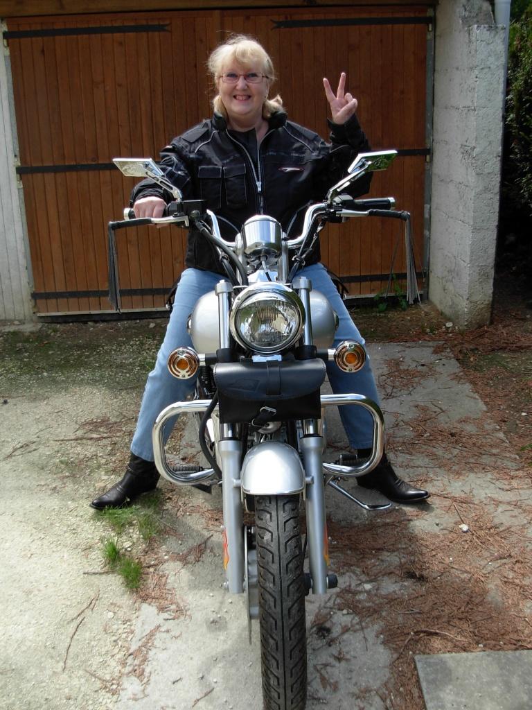 La motarde... Dscn1710