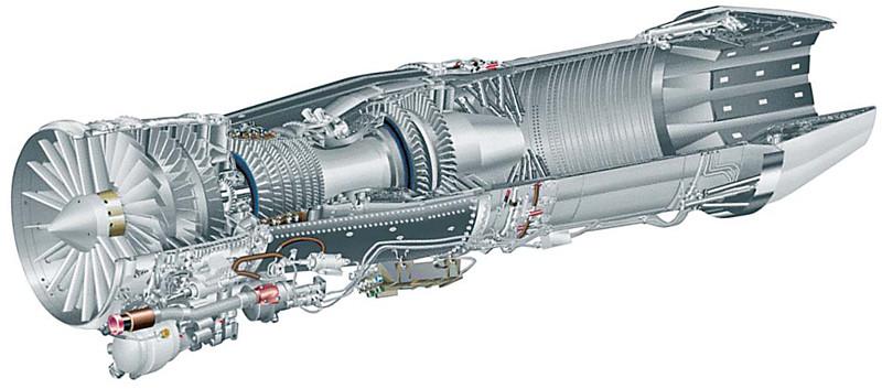 المقاتلة الذكية ساب جربين F414_cutaway