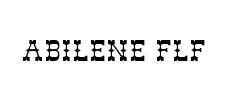 Vos polices d'écriture préférées Abilene-Flf