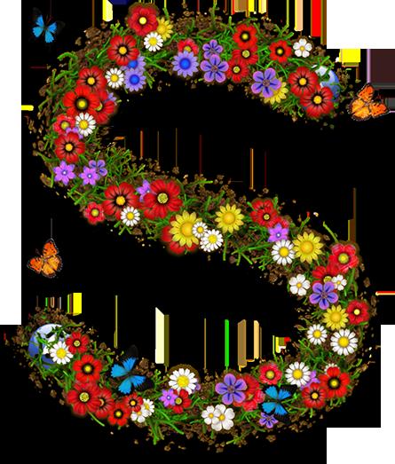 Oslikaj slova  azbuke - Page 13 Flowers-s